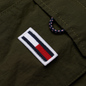 Мужская куртка парка Tommy Jeans Flag Patch Hooded Dark Olive фото - 2