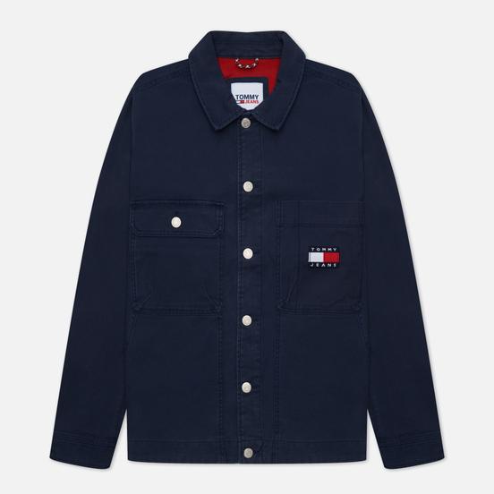 Мужская джинсовая куртка Tommy Jeans Tommy Badge Boxy Trucker Twilight Navy