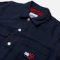 Мужская джинсовая куртка Tommy Jeans Tommy Badge Boxy Trucker Twilight Navy фото - 1