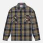 Мужская рубашка Tommy Jeans Check Zip Overshirt Twilight Navy/Multi фото - 0