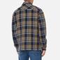 Мужская рубашка Tommy Jeans Check Zip Overshirt Twilight Navy/Multi фото - 3