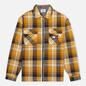 Мужская рубашка Tommy Jeans Check Zip Overshirt Golden Age/Multi фото - 0