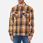 Мужская рубашка Tommy Jeans Check Zip Overshirt Golden Age/Multi фото - 2