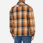 Мужская рубашка Tommy Jeans Check Zip Overshirt Golden Age/Multi фото - 3