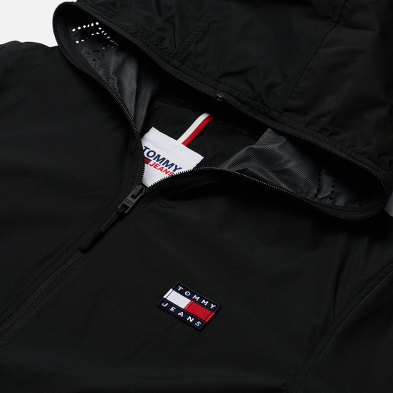 Мужская куртка Tommy Jeans Hooded Wind Black
