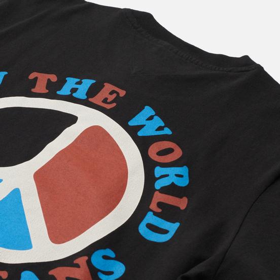 Мужская футболка Tommy Jeans Luv The World Peace Logo Black