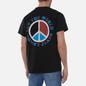 Мужская футболка Tommy Jeans Luv The World Peace Logo Black фото - 4
