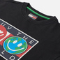 Мужская толстовка Tommy Jeans Luv The World Logo Crew Neck Black фото - 1