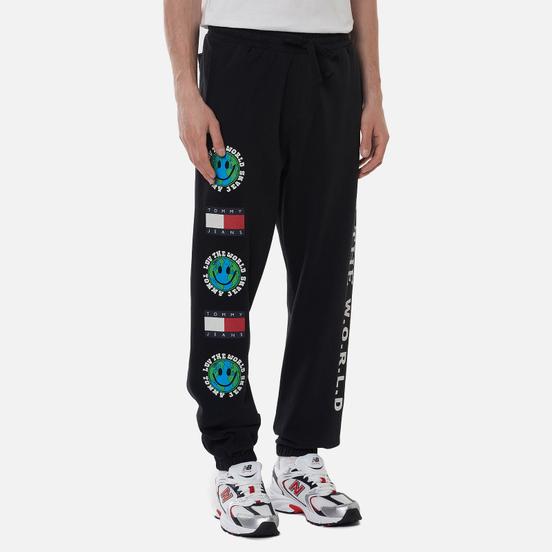 Мужские брюки Tommy Jeans Luv The World Globe Joggers Black