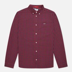 Мужская рубашка Tommy Jeans Heather Gingham Deep Crimson