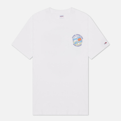 Мужская футболка Tommy Jeans Together World Peace White