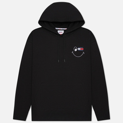 Мужская толстовка Tommy Jeans Badge Smiley Relaxed Fit Hoodie Black