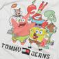 Мужская футболка Tommy Jeans x Sponge Bob Square Pants White фото - 2
