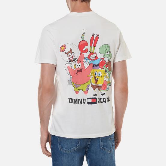 Мужская футболка Tommy Jeans x Sponge Bob Square Pants White