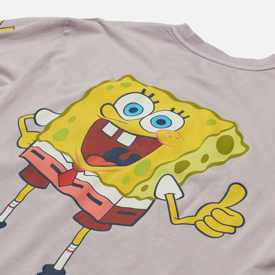 Мужской лонгслив Tommy Jeans x Sponge Bob Graphic Lilac Dawn