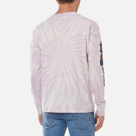 Мужской лонгслив Tommy Jeans x Space Jam Graphic 1 Tie Dye/Lilac Dawn
