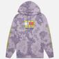 Мужская толстовка Tommy Jeans x Sponge Bob Square Pants Hoodie Tie Dye/Purple Quartz фото - 0