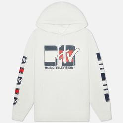 Мужская толстовка Tommy Jeans x MTV Hoodie White