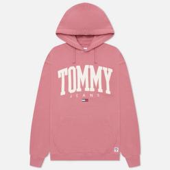 Мужская толстовка Tommy Jeans ABO Collegiate Hoodie Moss Rose