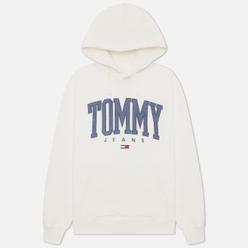 Мужская толстовка Tommy Jeans ABO Collegiate Hoodie Ivory Silk