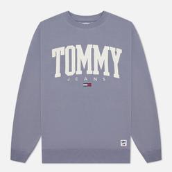 Мужская толстовка Tommy Jeans ABO Collegiate Crew Neck Faded Grape