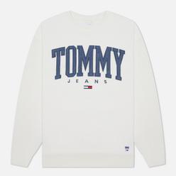 Мужская толстовка Tommy Jeans ABO Collegiate Crew Neck Ivory Silk