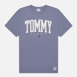 Мужская футболка Tommy Jeans ABO Collegiate Crew Neck Faded Grape