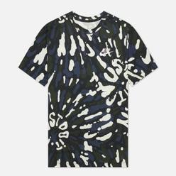 Мужская футболка Nike Black Light Tie-Dye Sail/Black