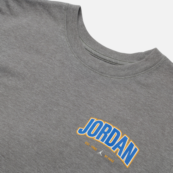 Мужская футболка Jordan Jumpman Graphic Crew Carbon Heather