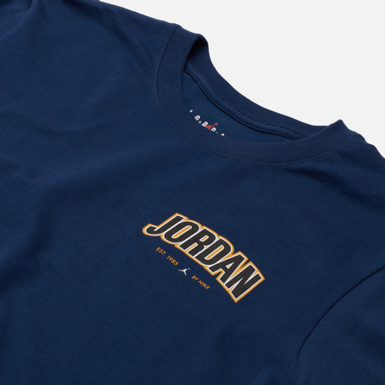 Мужская футболка Jordan Jumpman Graphic Crew Midnight Navy