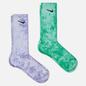 Комплект носков Nike 2-Pack Everyday Plus Cush Tie-Dye Crew Multi-Color/Green/Purple фото - 0
