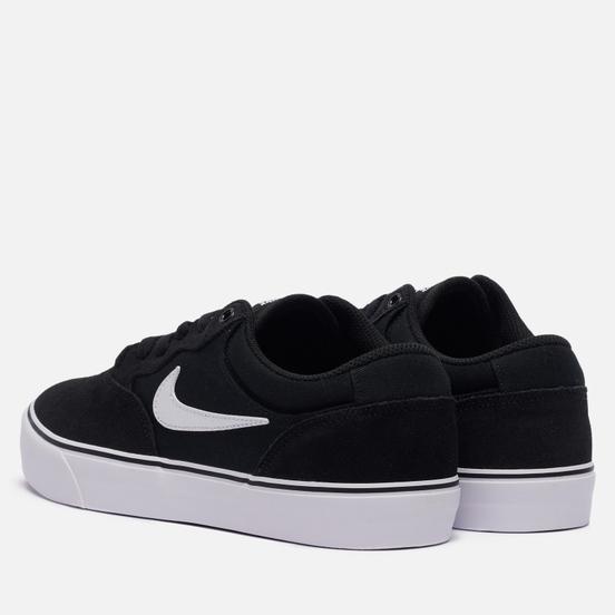 Мужские кроссовки Nike SB Chron 2 Black/White/Black