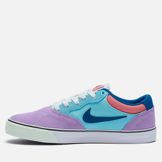 Мужские кроссовки Nike SB Chron 2 Lilac/Court Blue/Copa/Pink Salt