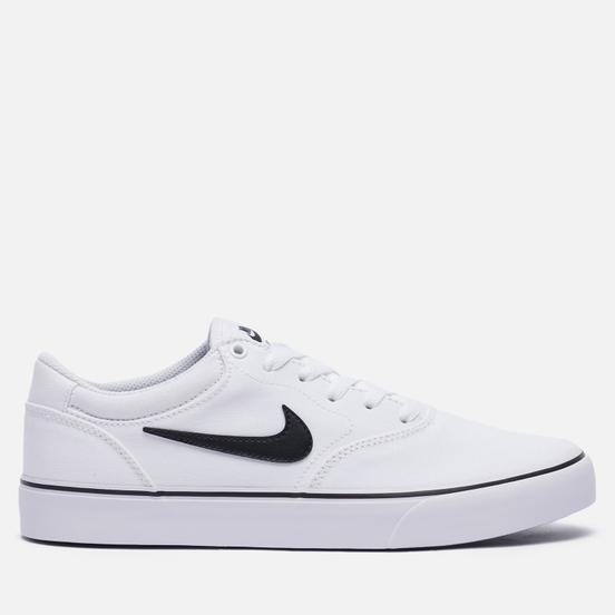 Мужские кроссовки Nike SB Chron 2 CNVS White/Black/White
