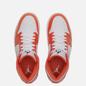 Мужские кроссовки Jordan Air Jordan 1 Mid SE Electro Orange/Black/White фото - 1