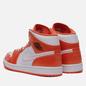 Мужские кроссовки Jordan Air Jordan 1 Mid SE Electro Orange/Black/White фото - 2