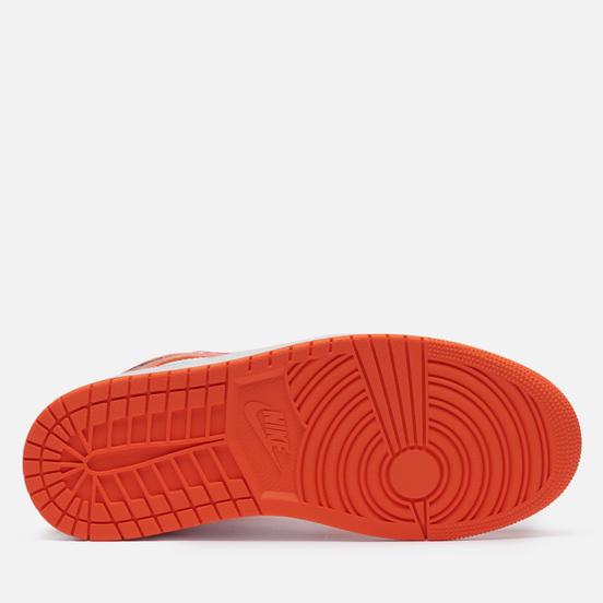 Мужские кроссовки Jordan Air Jordan 1 Mid SE Electro Orange/Black/White