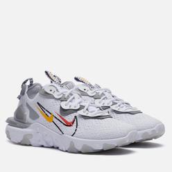 Мужские кроссовки Nike React Vision White/Black/Light Smoke Grey/Smoke Grey