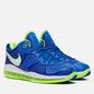 Мужские кроссовки Nike LeBron VIII V2 Low QS Sprite Treasure Blue/White/Black фото - 0