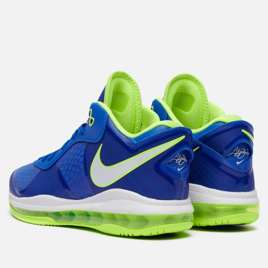 Мужские кроссовки Nike LeBron VIII V2 Low QS Sprite Treasure Blue/White/Black