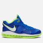 Мужские кроссовки Nike LeBron VIII V2 Low QS Sprite Treasure Blue/White/Black фото - 3