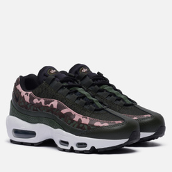 Женские кроссовки Nike Air Max 95 Brown Basalt/Black/Sequoia/Pink Glaze