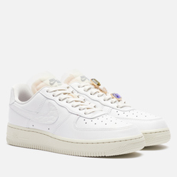Женские кроссовки Nike Air Force 1 Low PRM Bling Summit White/Summit White/Sea Glass