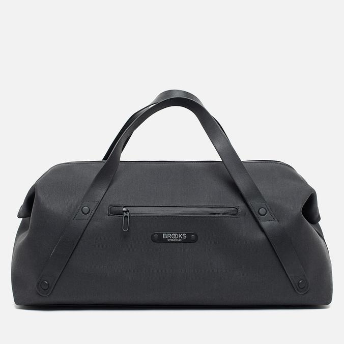 Brooks England Mott Weekender Medium Travel Bag Black