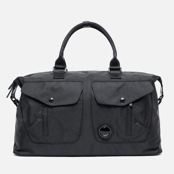 Дорожная сумка C.P. Company Borsone Con Oblo Black