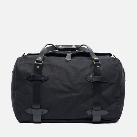 Filson Duffle Medium Travel Bag Black