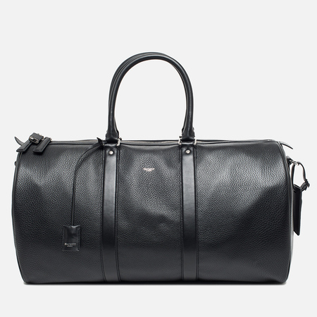 Hackett Pebble Boston Cabin Holdall Travel Bag Black