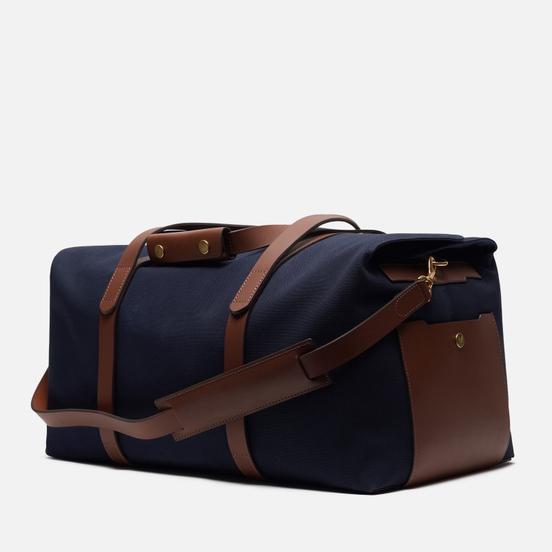 Дорожная сумка Mismo M/S Supply Midnight Blue/Cuoio