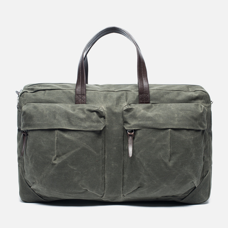 Property Of... Tommy Trip Travel Bag Dark Olive/Dark Brown