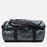 The North Face Base Camp Duffel 71L Travel Bag Camo Print/Black photo- 0